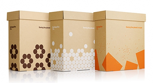 Designspiration — Askul Garbage Box : Lovely Package® . Curating the very best packaging design.
