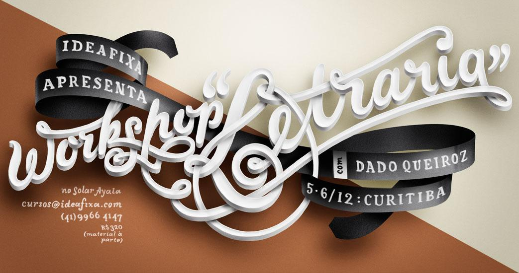 dado queiroz : illustration + graphic, lettering and type design