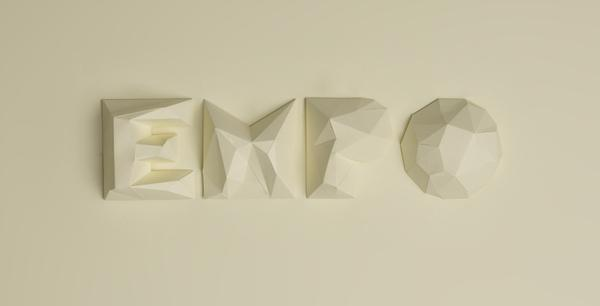 EMPO Lettering project for a psico-osteopathy school | jcgraciano.com
