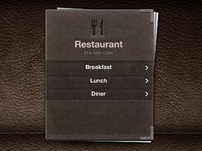 Menu by Meng To