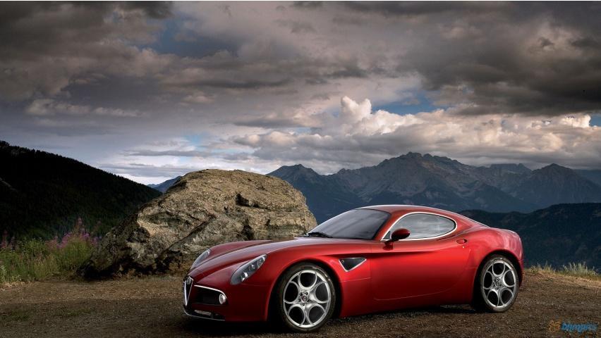 2011 Alfa Romeo 8C Competizione Wallpapers - 852x480 - 151190