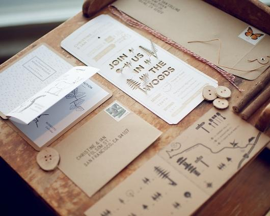 Designspiration — Punched Out Wedding Invitations - My Modern Metropolis