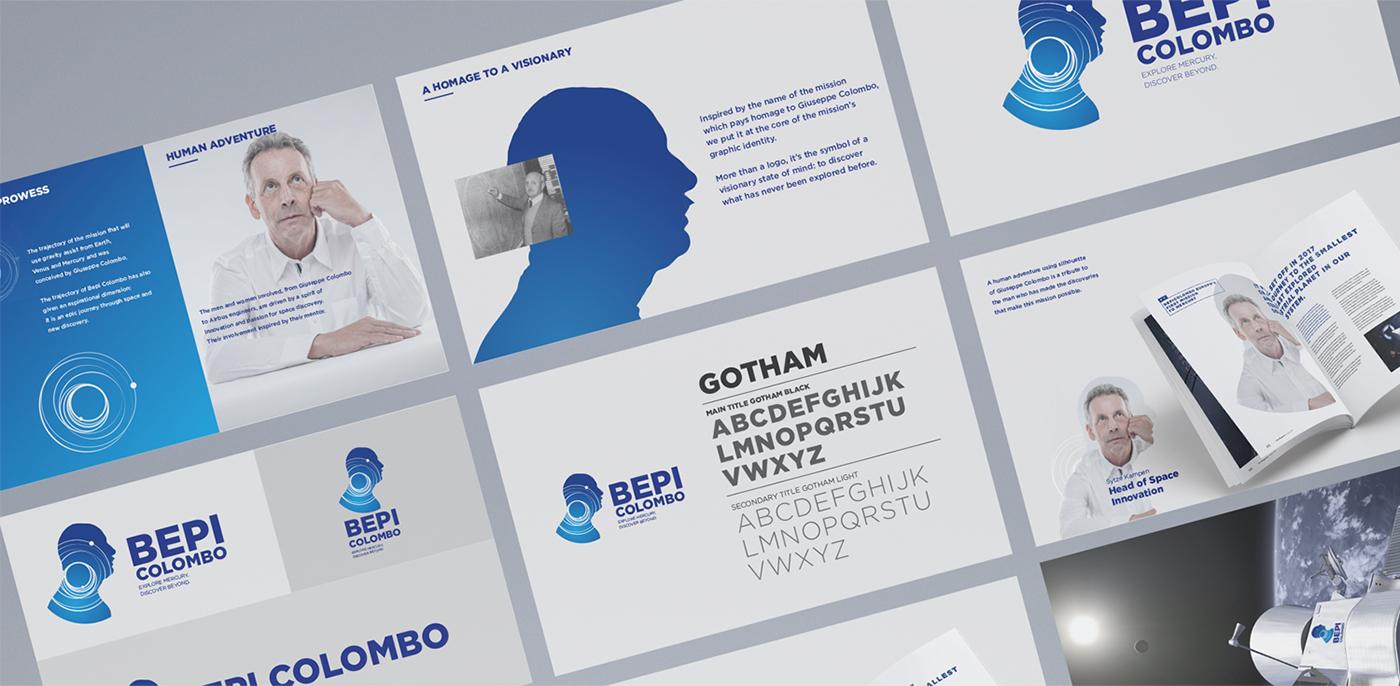 BEPI COLOMBO BRANDING / WEBSITE on