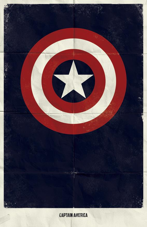 Minimal Marvel Posters by Marko Manev | inspirationfeed.com