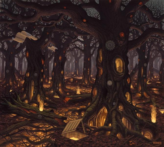 Surreal Paintings by Jacek Yerka (10 total) - My Modern Metropolis