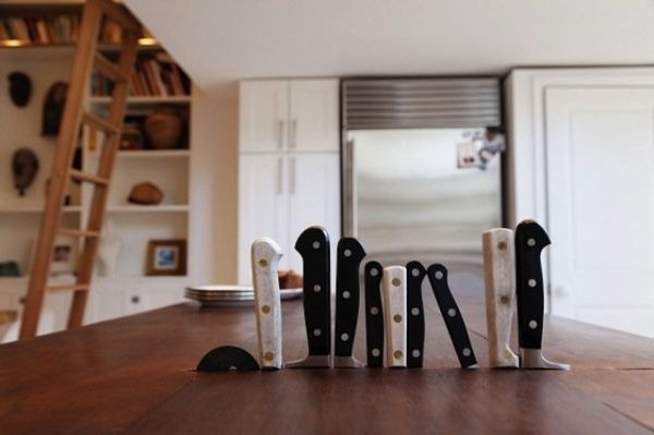 To Store Your Kitchen Knives Here Are 10 Excellent Ways - Diy Crafts You & Home Design