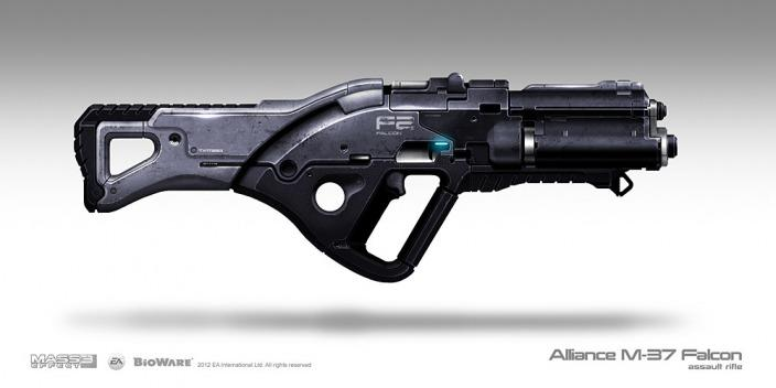 Alliance Falcon assault rifle by Sum - Brian Sum - CGHUB