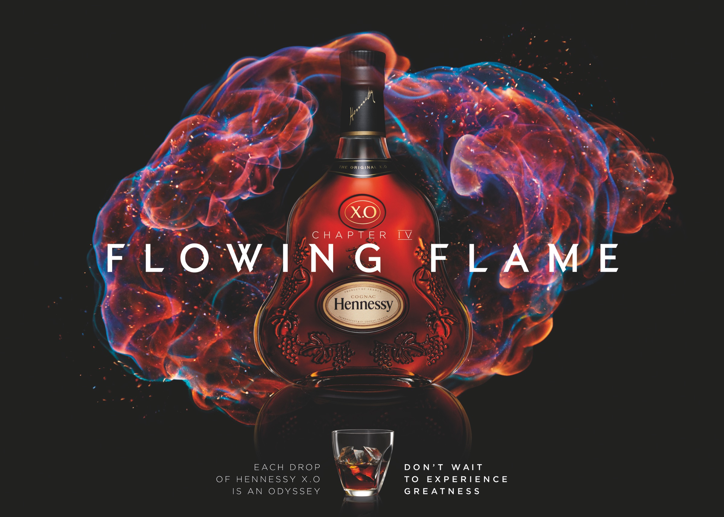 Hennessy: Flowing flame | Ads of the World™