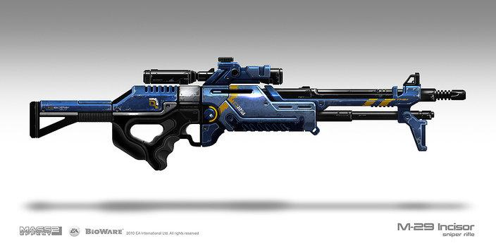M29 Incisor Sniper Rifle by Sum - Brian Sum - CGHUB