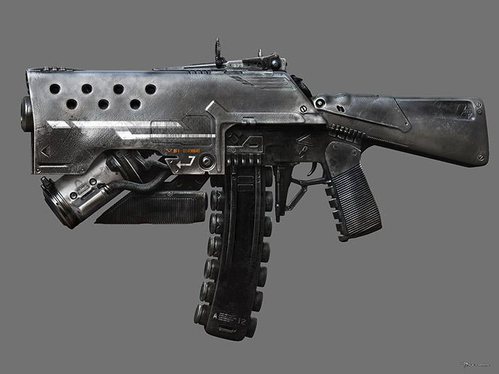 Gun by Bulgarov - Vitaly Bulgarov - CGHUB