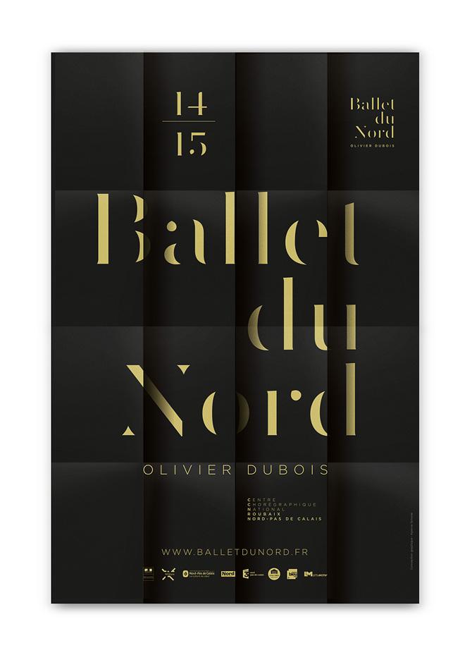 BALLET DU NORD Nouvelle identité visuelle - Agence Simone / Stratégie & Image de marque