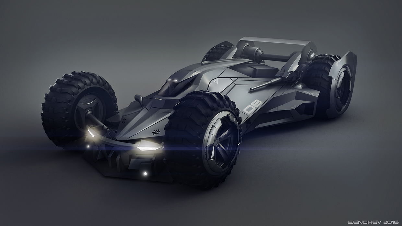 Batmobile concept on