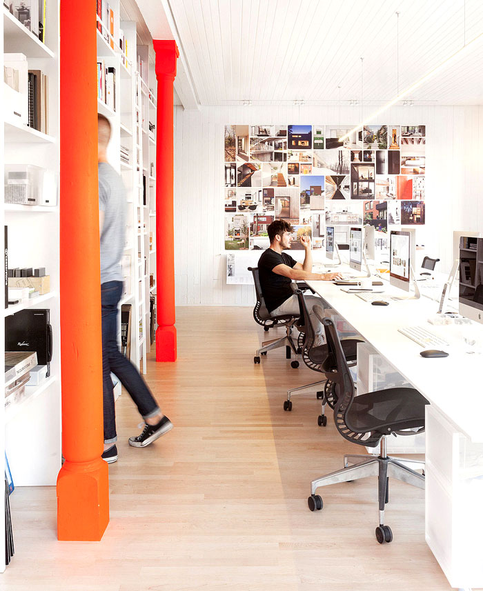 Office space in montreal by la shed architecture for Shared office space montreal
