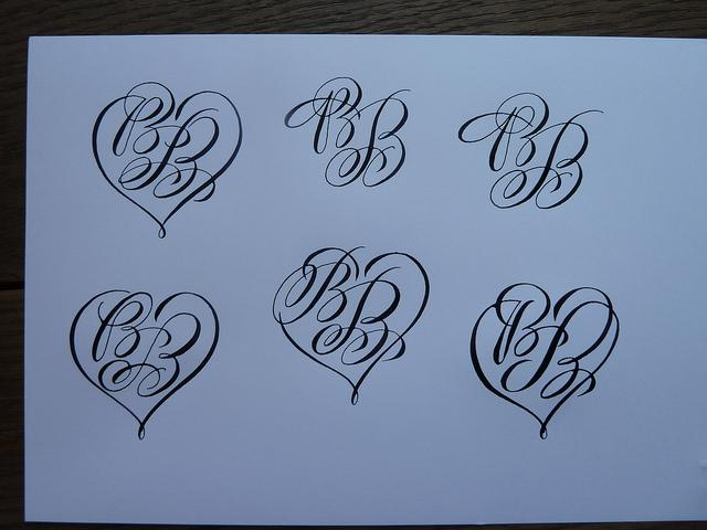 monogramm for a tattoo | Flickr - Photo Sharing!