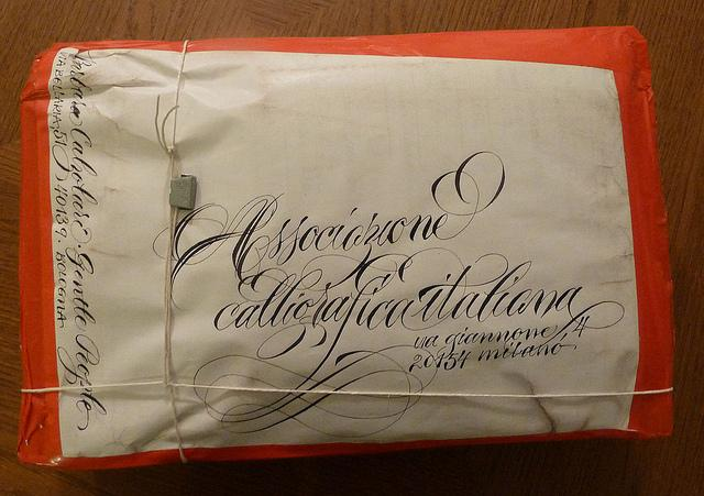 box for italian calligraphy association | Flickr - Photo Sharing!