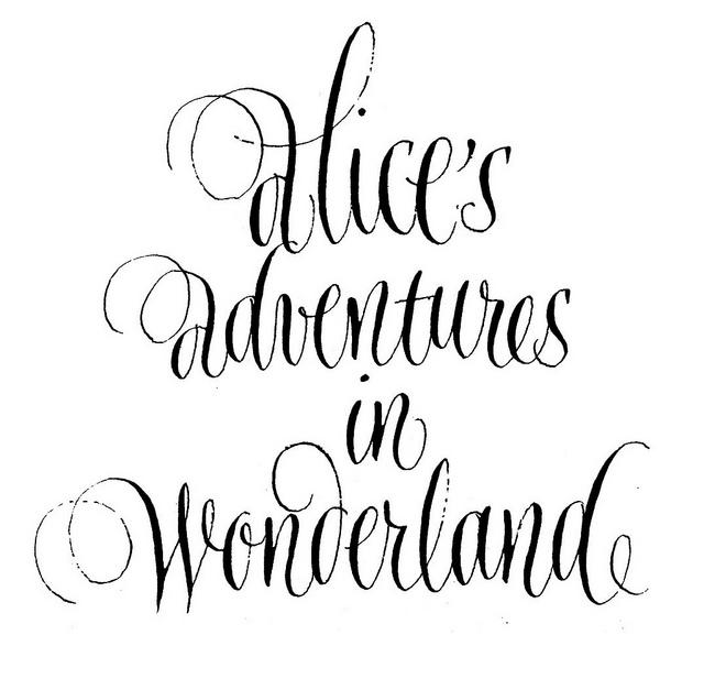 Alice in Wonderland · Titular · Book Heading   Flickr - Photo Sharing!