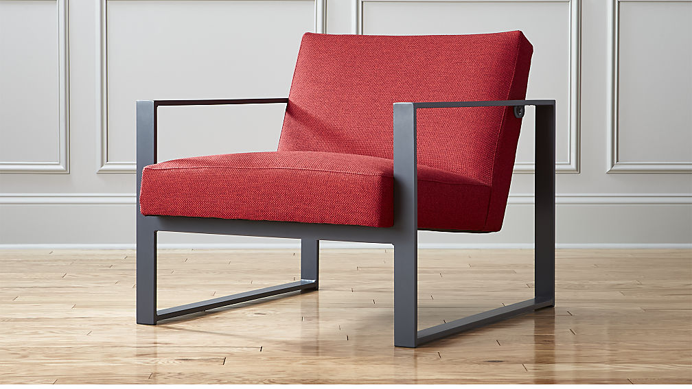 Elegant Specs Chair Buster: Chili | CB2