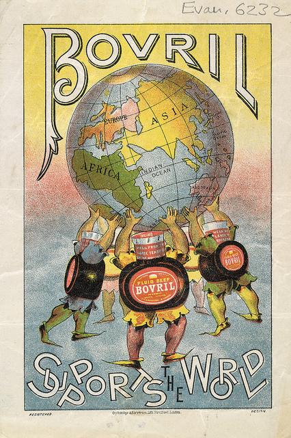 Bovril advertisement, c1890 | Flickr - Photo Sharing!