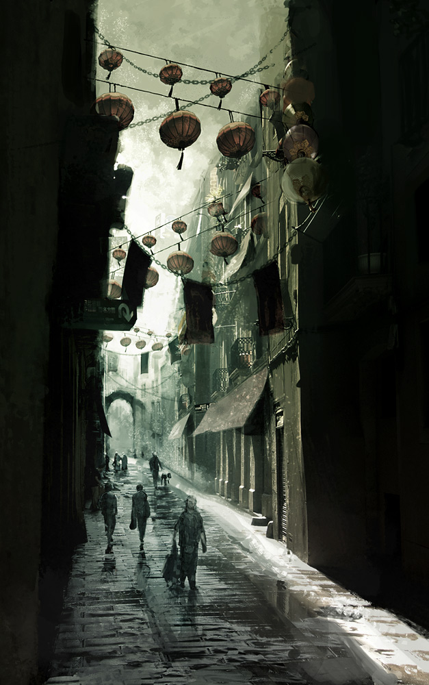 Asian alley by ~MittMac