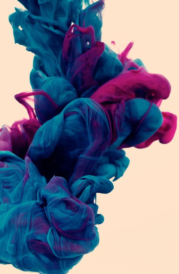 New Underwater Ink Photographs by Alberto Seveso | Colossal