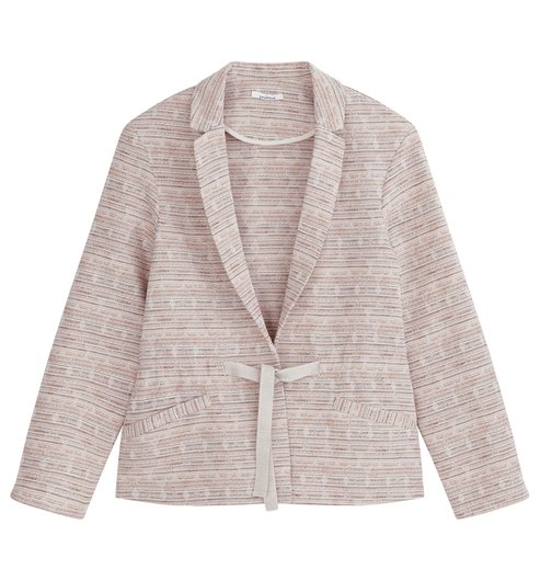Blazer - Rosa gemustert - Damen - Jacken - Promod