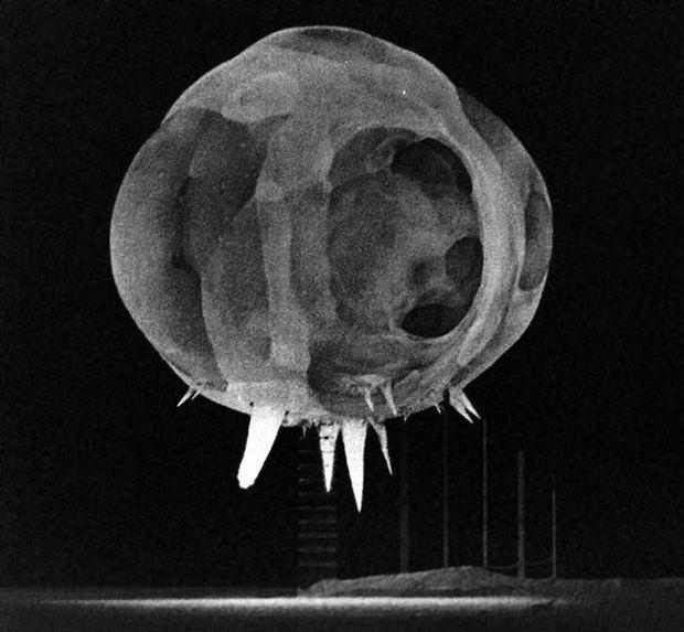 Photo of a Nuclear Explosion Less than 1 Millisecond After Detonation