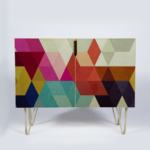 DENY Designs Three of the Possessed Credenza | AllModern