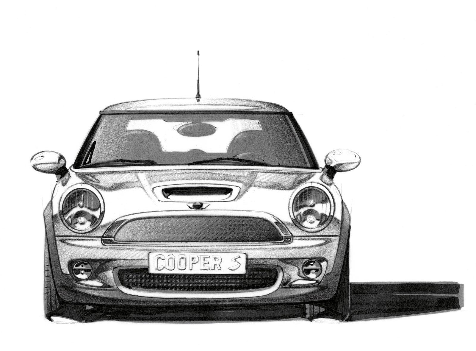MINI - Design Sketch - Car Body Design