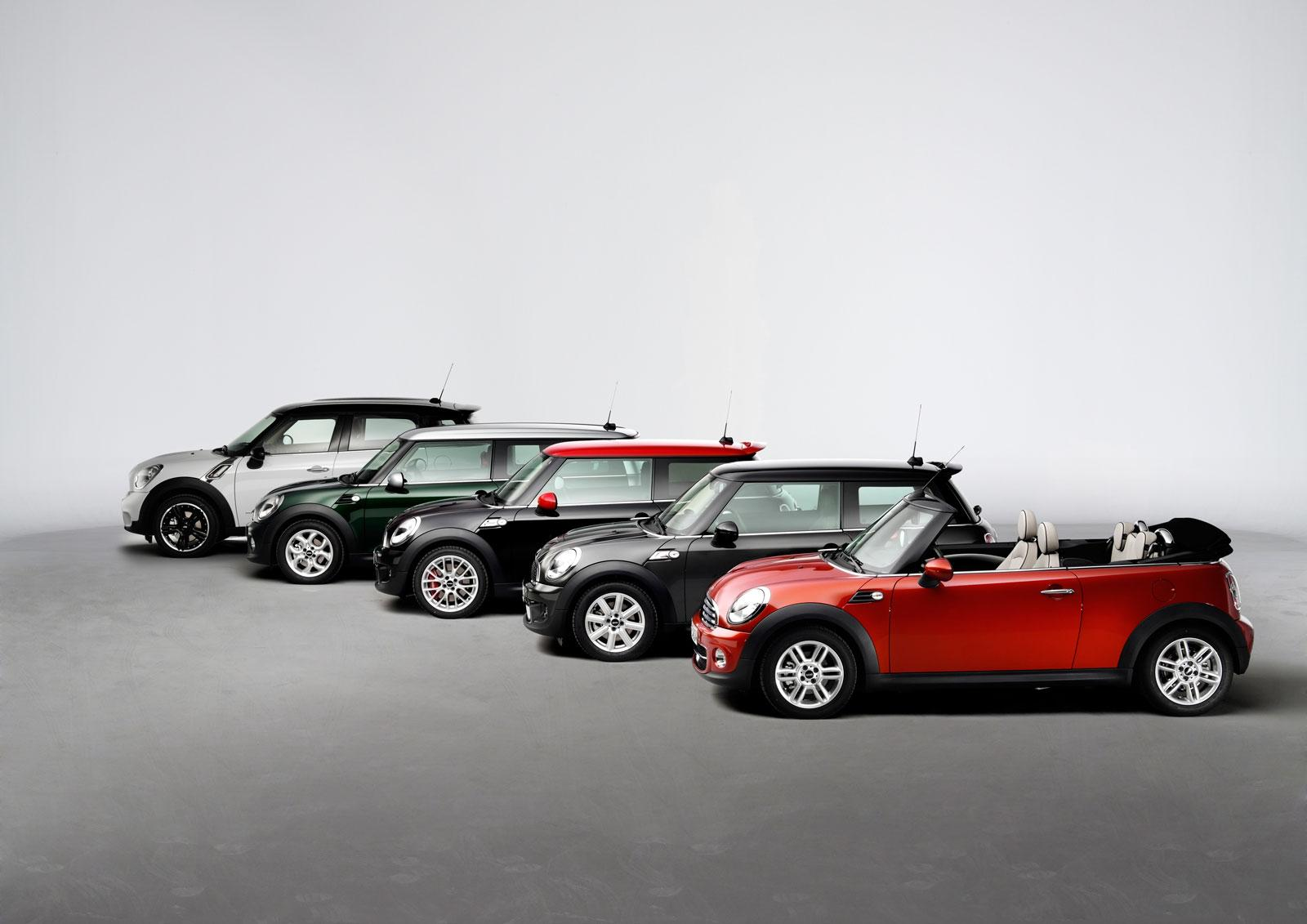 MINI model line-up - Car Body Design