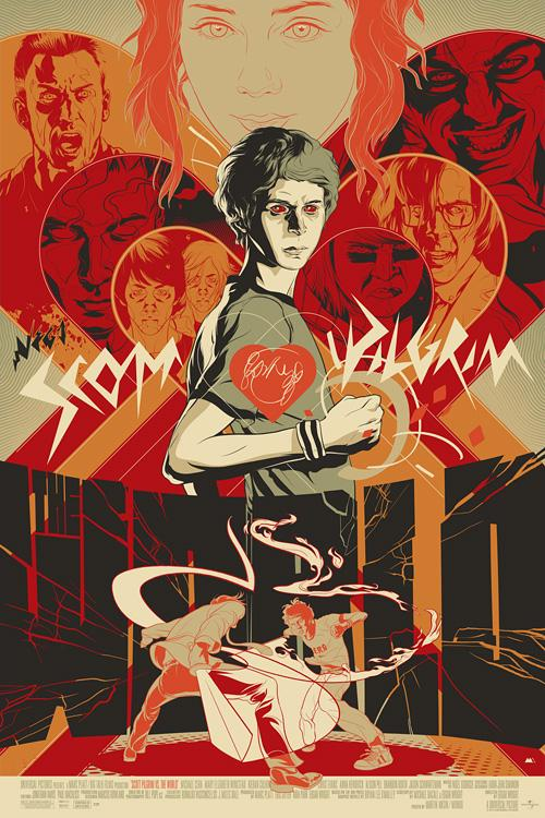 Scott Pilgrim vs. The World : Martin Ansin, Illustrator | Illustration Portfolio