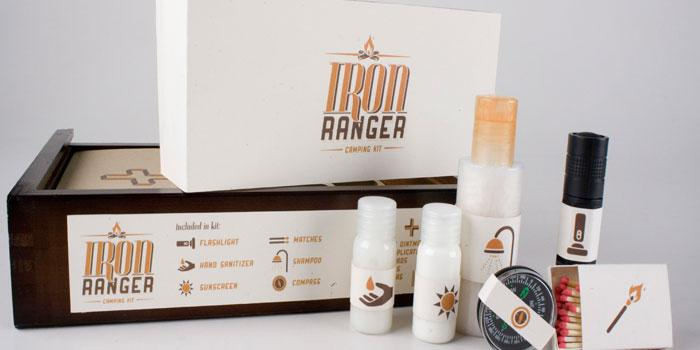 Student Spotlight: Iron Ranger Camping Kit - The Dieline: The World's #1 Package Design Website -