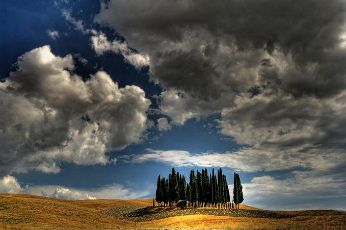 Val D'Orcia: Photo by Photographer Francesco Martini - photo.net