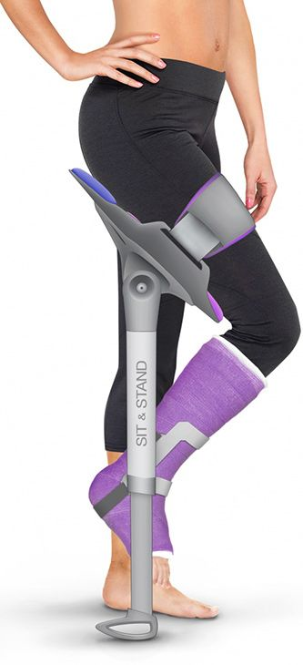 Traditional crutches essentially offload a person's weight from the injured leg to the upper body, either via the armpits or forearms. This can be …   Pinterest
