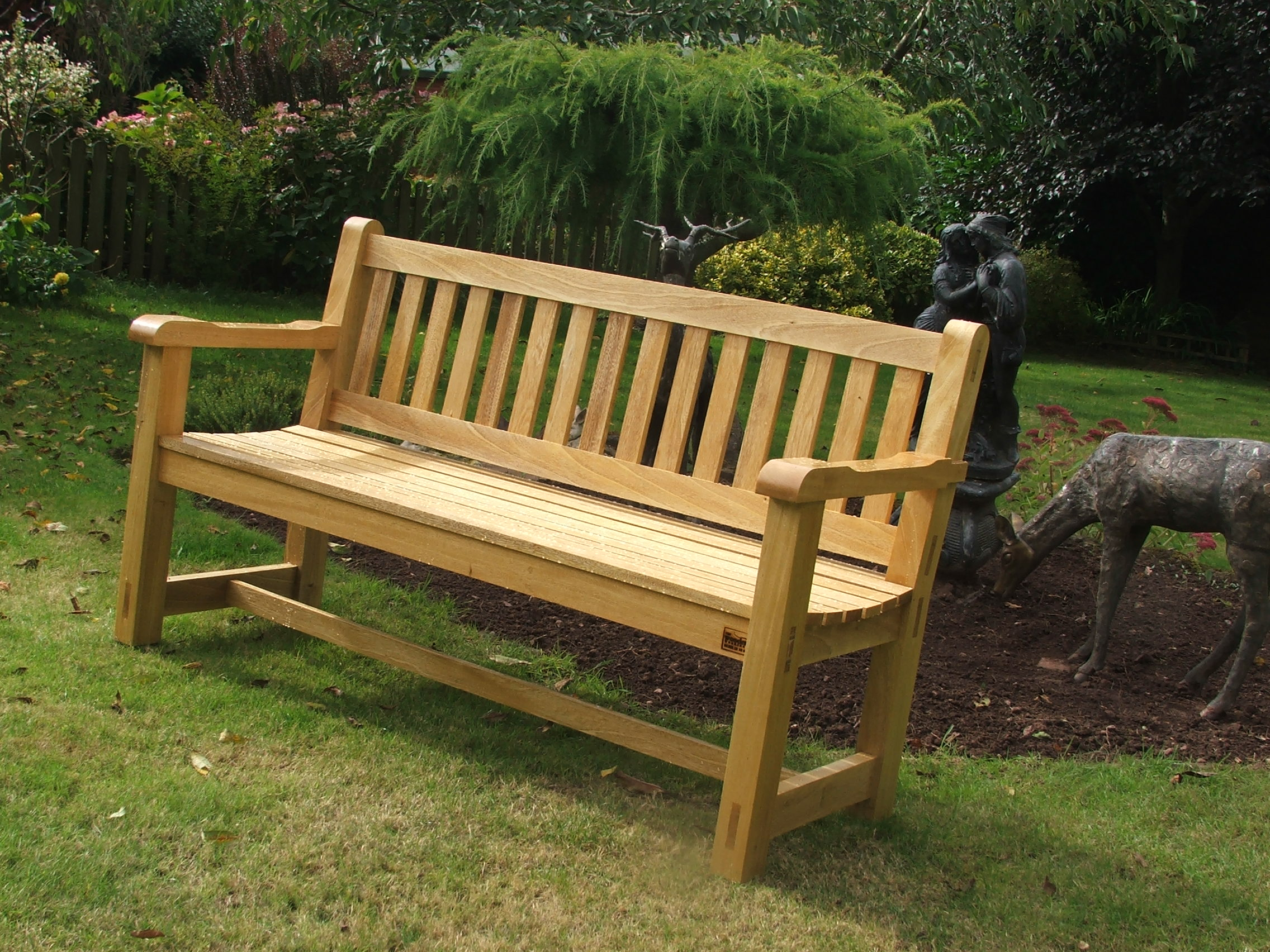 nice wood patio bench ideas - WellBX