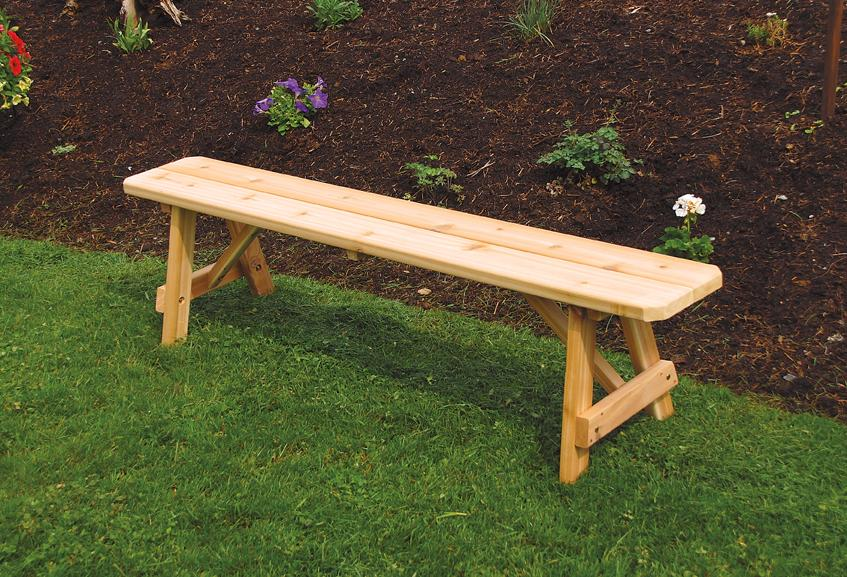 simple wood patio bench ideas #1 - WellBX