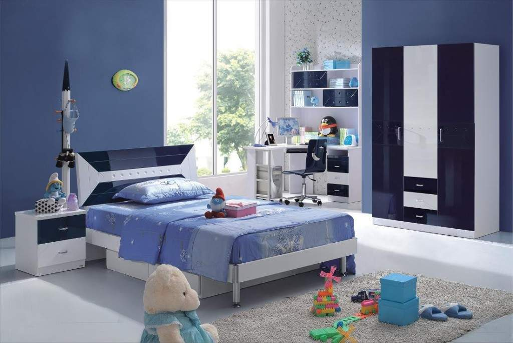 blue bedroom decor for teenage boys #319 - WellBX
