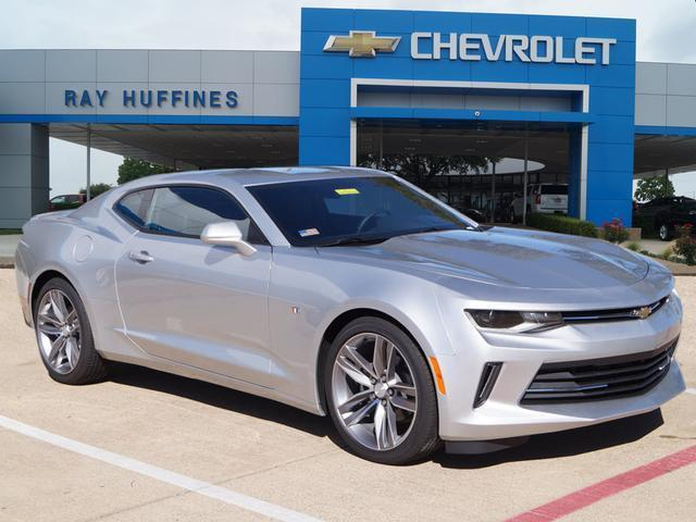 New 2016 Silver Ice Metallic Chevrolet Camaro 2dr Cpe LT w/2LT For Sale in Plano, TX | 1G1FD1RS0G0126337