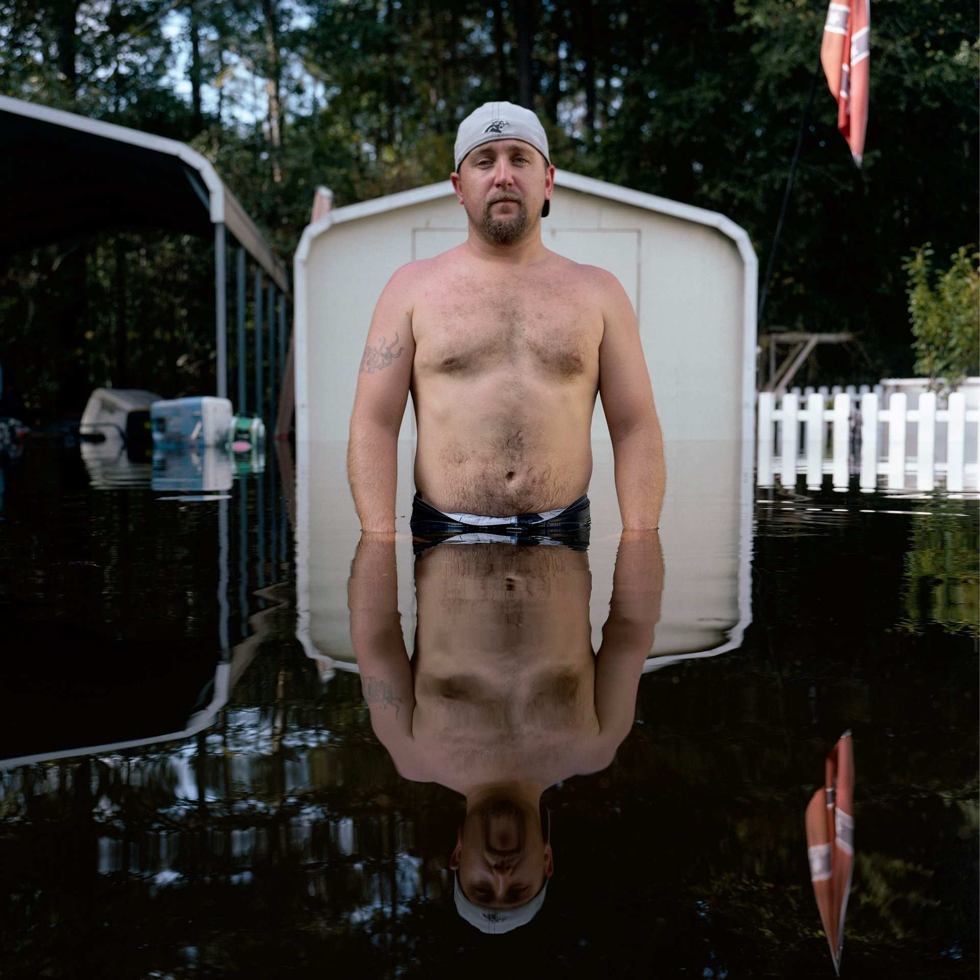 Shocking Portraits of People Living in Flood Zones