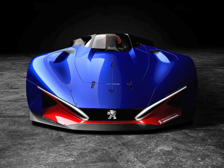 Peugeot L500 R HYbrid Concept - Car Body Design