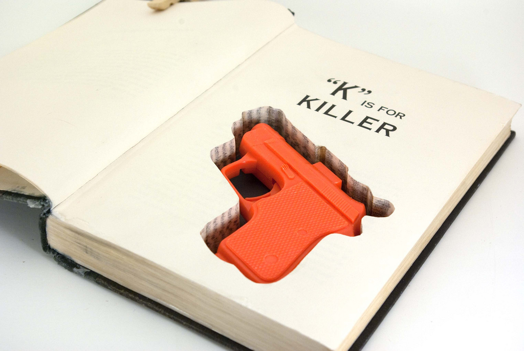 All sizes | Hollow Book with Gun Cut-Out | Flickr - Photo Sharing!