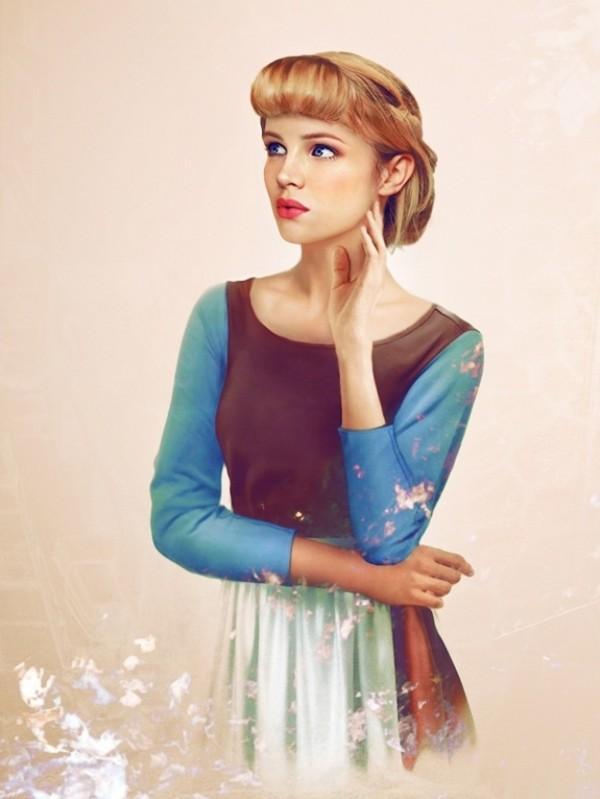 Jirka V T Inen Envisions Real Life Disney Characters