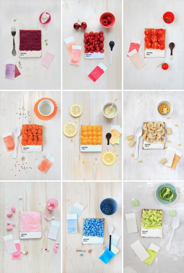 Pantone Tarts by Emilie Guelpa | Trendland: Fashion Blog & Trend Magazine