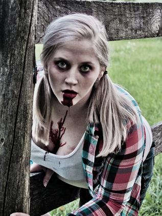 Zombie Girls: They Wanna Suck Your...Brains