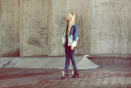 "Get It On //""Faded denim"" by Fanny Lyckman // LOOKBOOK.nu"