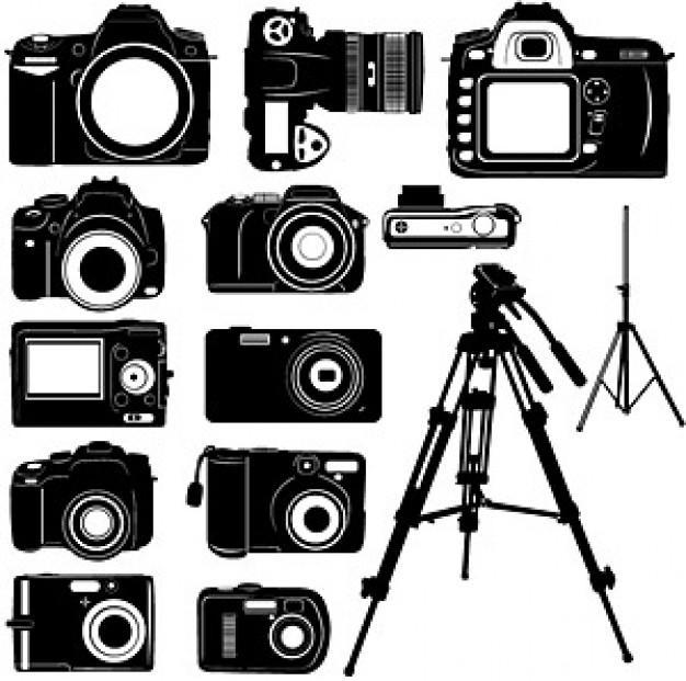 Resultados da Pesquisa de imagens do Google para http://static.freepik.com/fotos-gratis/preto-e-branco-da-camera-digital-material-vector-silhouette_15-7674.jpg