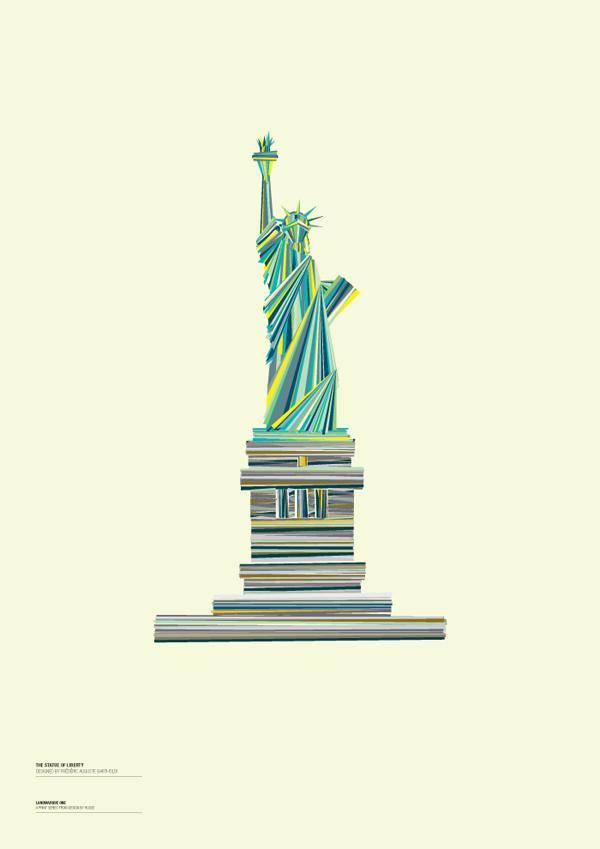 Des monuments du monde illustrés | La boite verte