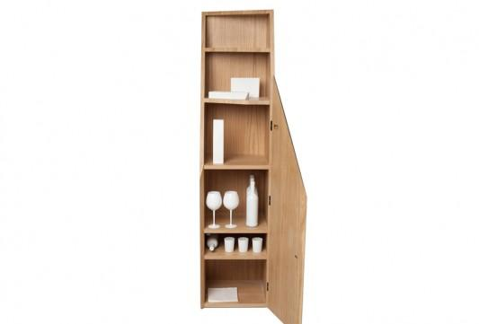 Functional Minimalist Furniture with Storage, CUTLINE Furniture by Alessandro Busana | Home Design Inspiration