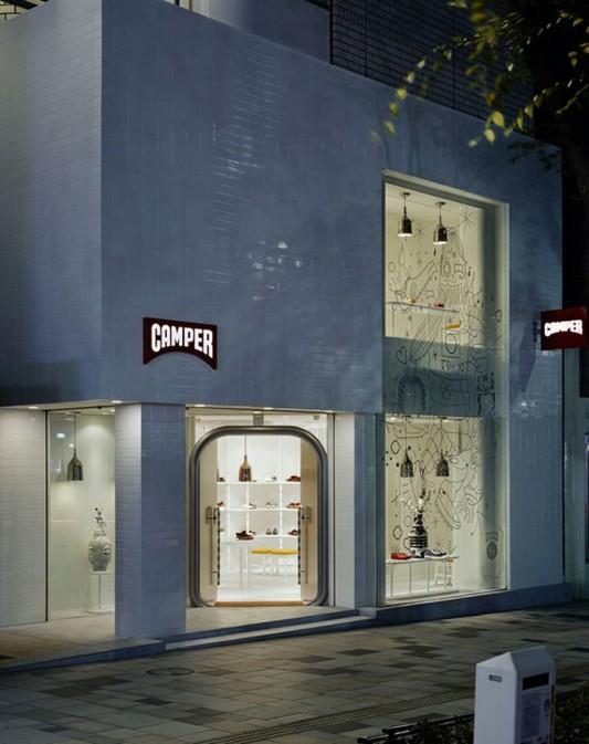 Neo Classical Shop Interior Design Ideas, Camper Shop Tokyo by Hayon Studio | Home Design Inspiration