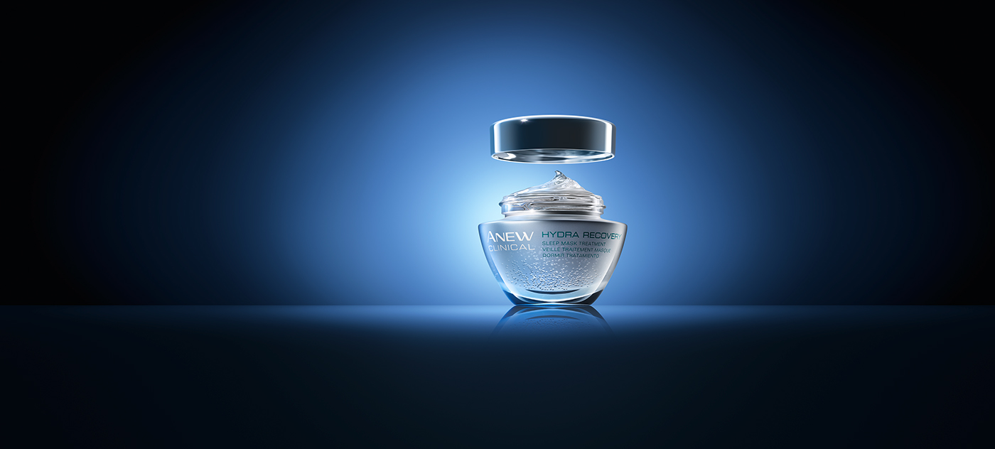 AVON Anew Clinical Sleepmask on