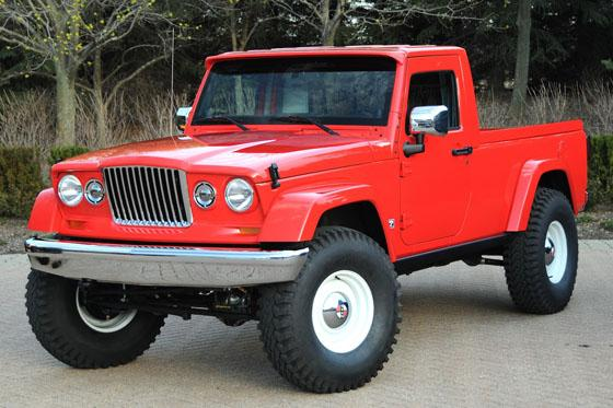 Jeep Unveils Two Pickup Concepts Pre-Safari - PickupTrucks.com News